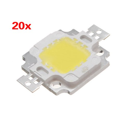 Sonline 20PCS White Power 1100LM