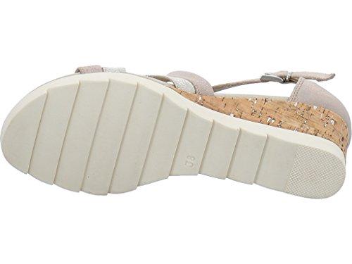 Marco Tozzi 2-2-28716-20-447 - Sandalias de Vestir Para Mujer Beige
