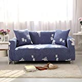 Modern Furniture Decorative Sofa Protective Slipcover Geometric Floral Printing Removable Elastic Couch Stretch Case for Living