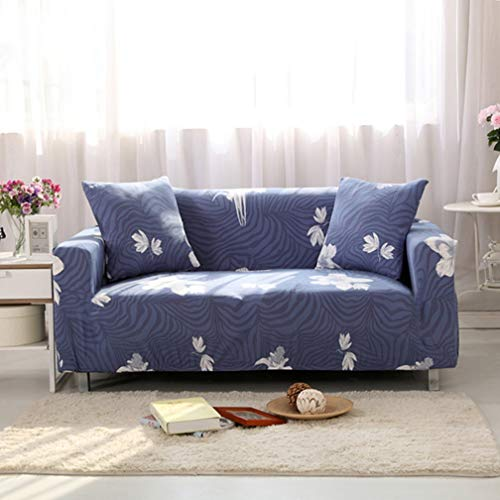 Modern Furniture Decorative Sofa Protective Slipcover Geometric Floral Printing Removable Elastic Couch Stretch Case for Living by LVYING