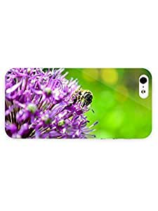 3d Full Wrap HTC One M7 Animal Bee On The Flower92 by ruishername