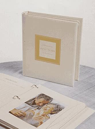 Book of memories for 50th wedding anniversary