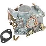 Partol Car Carburetor Compatible for VW Beetles Super Beetles 1971-1979 Dual Port 1600cc 34 Pict-3 VW Air Cooled Type 1…