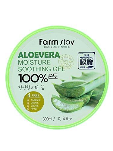 Farm Stay Moisture Soothing Gel - Aloe Vera 300ml/10.14oz