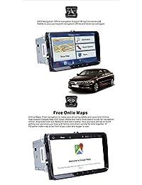 Android 8.0 coche estéreo doble 2 DIN 9 pulgadas pantalla táctil capacitiva GPS sistema de navegación para VW Volksvagen Golf Passat Tiguan Polo Jetta Skoda Seat Octa core 4G RAM 32G ROM