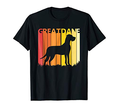 Retro Great Dane Dog T-shirt Ugly Christmas Pajama Gift