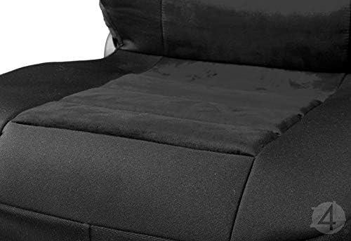SCHWARZ 2stk Set Z4L /Überz/üge Panther Universell Sitzschoner Dickes Material 4D-PANTHER-166