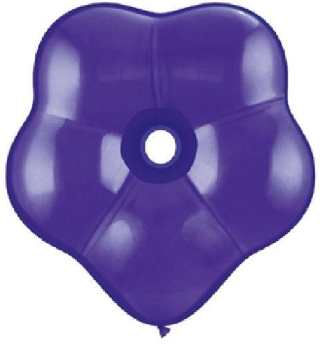 loonballoon Geo Blossomダークパープル花型( 5 ) 16