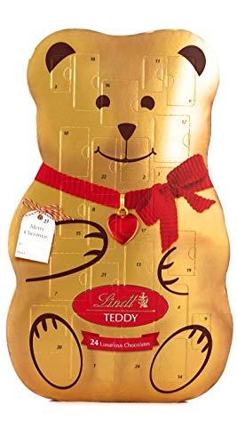 [해외]Lindt Teddy Luxury 3D Advent Calendar 310 Grams / Lindt Teddy Luxury 3D Advent Calendar 310 Grams
