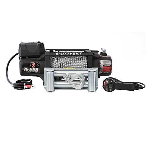Smittybilt (97515 X2O Waterproof Winch - 15500 lb. Load Capacity