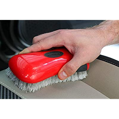 Mothers 154301 Soft Bristle Leather and Upholstery Cleaning Brush: Automotive