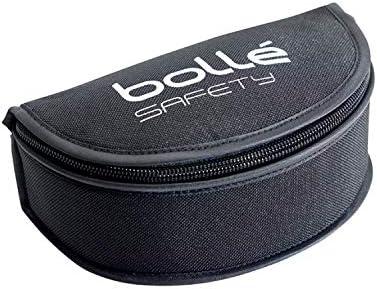 Bollé ETUICR Estuche para gafas semirigida con lazo para cinturón, negro, talla única