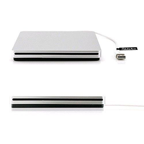 Zhizhu External CD Drive USB DVD Drive CD Burner Player USB 2.0 Cable USB Superdrive Mac Apple iMac by Zhizhu (Image #1)