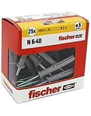 Fisher Pluggen Family 6X40 MM Grijs