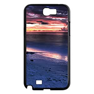 Good Quality Phone Case With HD Seascape Images On The Back , Perfectly Fit To Samsung Galaxy Note 2