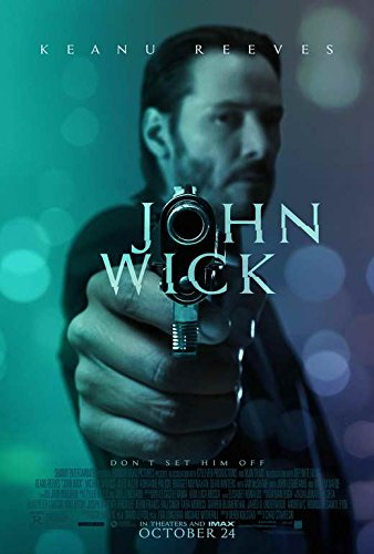 John Wick Movie Poster 27 X 40 Style B 2014 Unframed