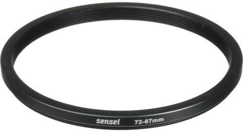 4 Pack Sensei 72mm Lens to 67mm Filter Step-Down Ring