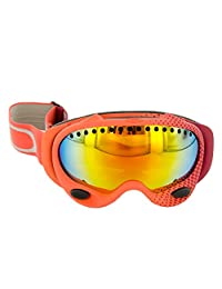 Oakley A Frame Half-Tone Crimson Adult Snow Snowmobile Goggles Eyewear - Fire Iridium / One Size Fits All