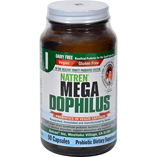(Natren Mega Dophilus Dairy Free - 90 Vegetarian Capsules)
