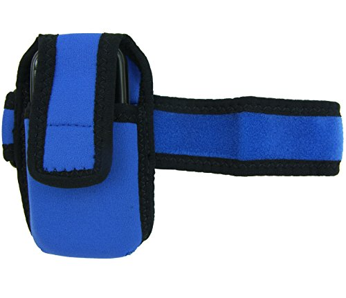 Stop Trail Boots (Intrepid International Riders Cell Phone Neoprene Case, Blue, Large)
