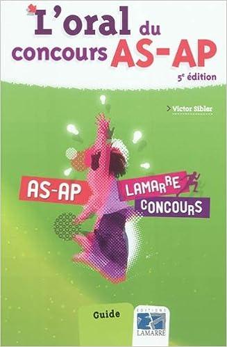 Livre gratuits en ligne L'oral du concours AS-AP pdf, epub ebook