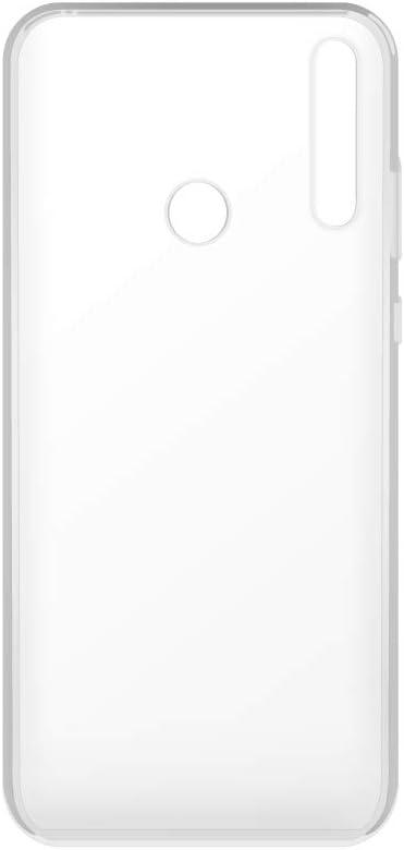 Cristal Templado Huawei P30 Lite Carcasa Silicona Y Vidrio Dureza 9H Funda TPU Transparentes para Huawei P30 Lite Cover De Gel Blando con Protector De Pantalla, KSTORE365 Funda