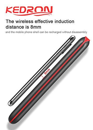 KEDRON Power Bank 24000mAh Caricabatterie Portatile Caricatore Wireless con Display LCD Digitale e 3 Porte USB & 2 Porte di Entrata Batteria per Telefono