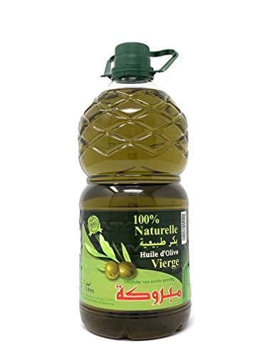 Mabrouka 100% Premium Virgin Olive Oil (2 Litter)