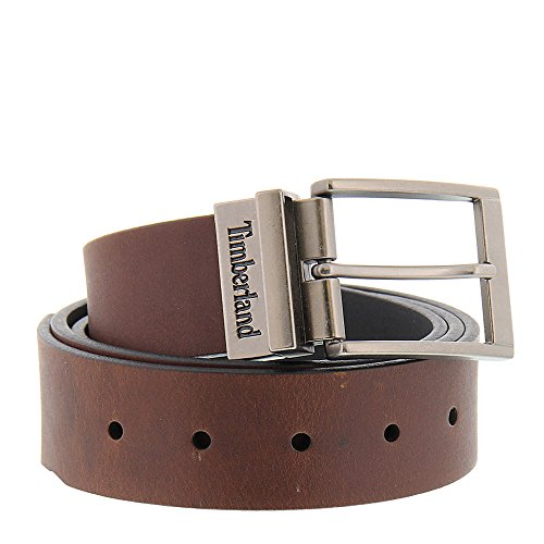 Timberland Men's 38mm Belt Brown/Black 36 by Timberland