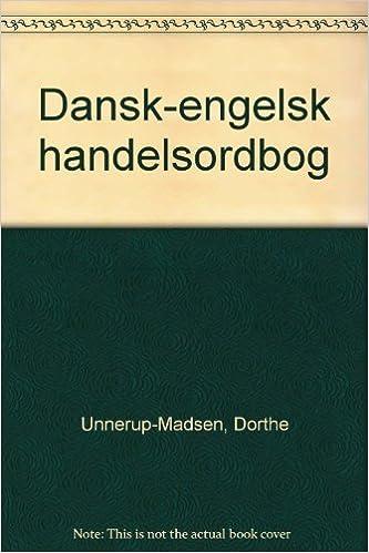 handelsordbog dansk engelsk online