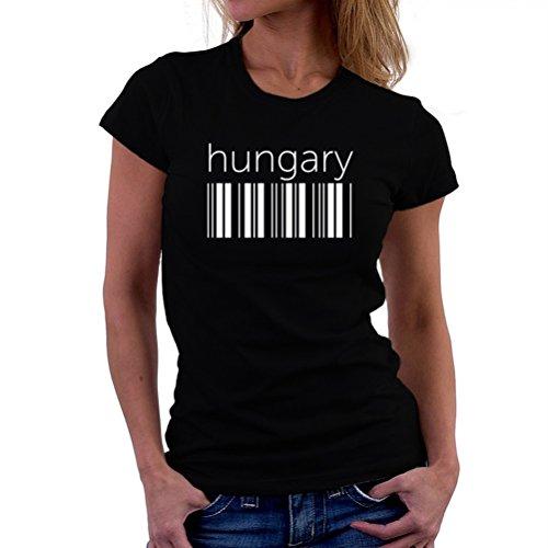 Hungary barcode T-Shirt Femme