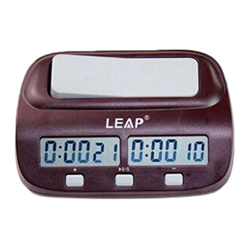 Nesee LEAP Game Competition Timer Digital LED Chess Clock Timer I-Go Count up Down Alarm Electronic