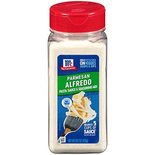 McCormick Parmesan Alfredo Pasta Sauce & Seasoning Mix, 8.12 oz