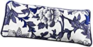 Lavender Eye Pillow- Organic Flax Seed Filled Silky Eye Pillow for Yoga, Meditation Relaxation Perfect for Sle