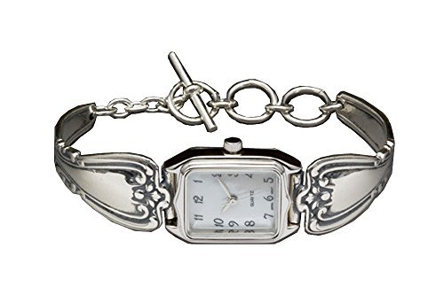 Silver Spoon Toggle Mother of Pearl Ladies Watch Daphne W (Silver Spoon Watch compare prices)