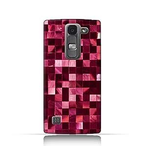LG Spirit TPU Silicone Case With Glamour Disco Squares Design