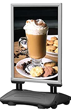 Signware Grey Wind Resistant, Waterproof Forecourt Pavement Display Sign (30' x 40')