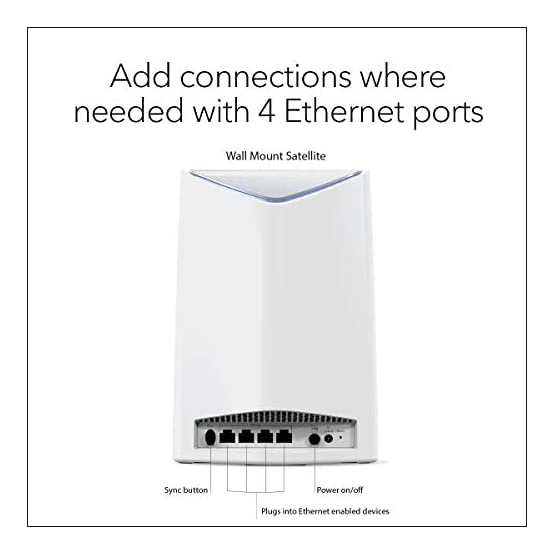 NETGEAR Orbi Pro AC3000 Business Mesh WiFi System, Indoor Expansion, Wireless Access Point (SRS60) 41w