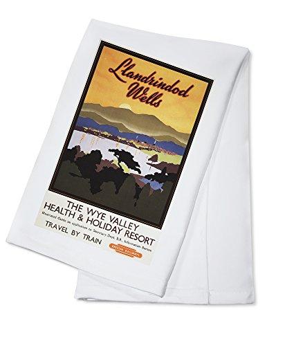 wye-valley-resort-british-rail-poster-100-cotton-absorbent-kitchen-towel