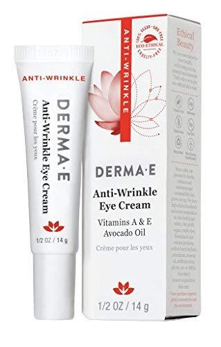 DERMA E Anti-Wrinkle Cream with Vitamin A and Vitamin E 0.5 oz
