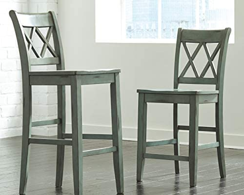 home, kitchen, furniture, game, recreation room furniture, home bar furniture,  barstools 7 discount Signature Design by Ashley - Mestler Bar Stool - Pub deals