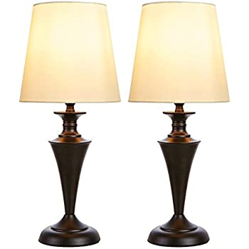 Amazon Com Globe Electric Set Of Two 27 Quot Table Lamps