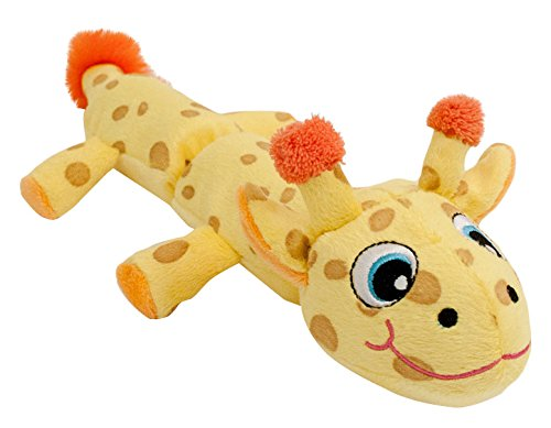 Hyper Pet Cozy Critter Skinz Giraffe Plush Dog Toy