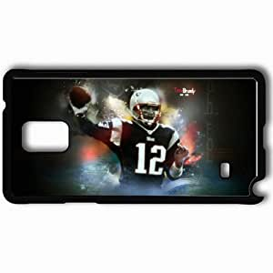Personalized Samsung Note 4 Cell phone Case/Cover Skin 1518 new england patriots Black