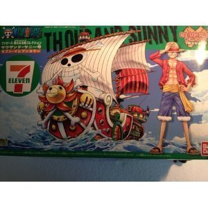 Ship collection thousand sunny mighty seven eleven color one piece (Thousand Sunny Model Kit)