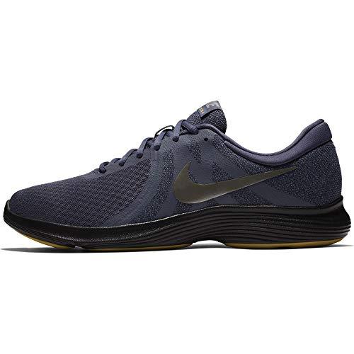 black carbone Scarpe 4 nero Chiaro Carbon Peltro 015 Running Eu Uomo Revolution gridiron Nike Pewter light mtlc qUw0ZZ
