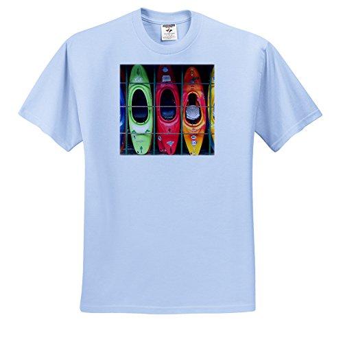 3dRose Water Sport Kayak T Shirts