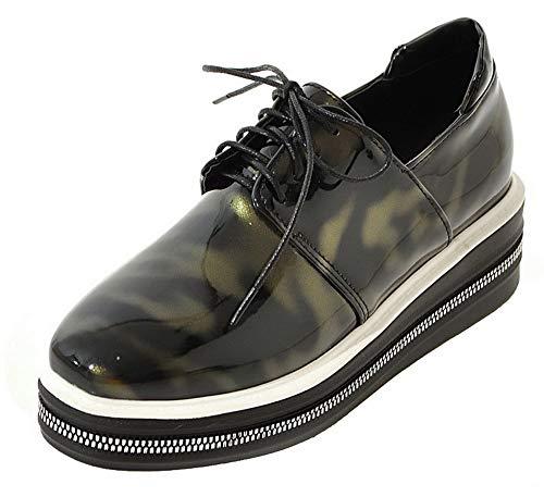 hak dames Tsmdh004371 hoge goud schoenen Aalardom met Solide hak p half CFaSwfq
