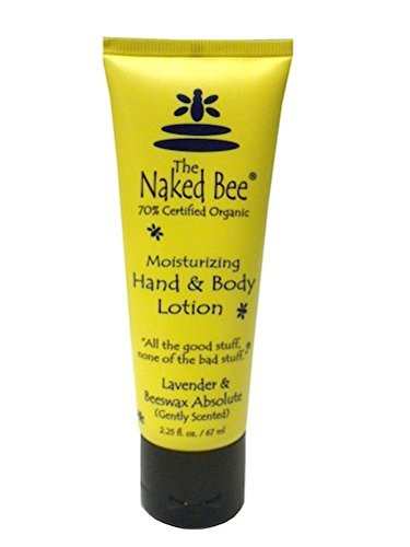 Naked Bee Lavender & Beeswax Absolute Lotion 2.25oz. Tube