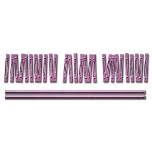 Spellbinders S2-174 Shapeabilities Wooden Fence Die D-Lites Embellishment